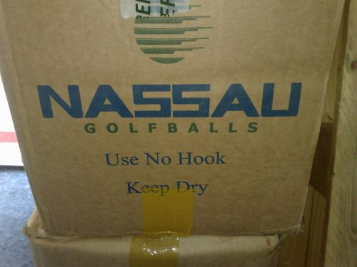 Nassau-Golfbälle: Use no Hook, keep dry!